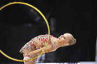 September 23, 2014 - Izmir, Turkey -  YANA KUDRYAVTSEVA of Russia performs at 2014 World Championships.