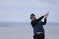 Robert Brazill (Naas) during the first round of matchplay at the 2018 West of Ireland, in Co Sligo Golf Club, Rosses Point, Sligo, Co Sligo, Ireland. 01/04/2018.<br /> Picture: Golffile | Fran Caffrey<br /> <br /> <br /> All photo usage must carry mandatory copyright credit (&copy; Golffile | Fran Caffrey)