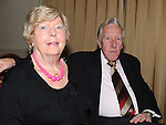 Tony and Helen Mullins pictured at the Return to Abbey Ballroom with the Flying Carlton at the Glenside hotel. Photo: Colin Bell/pressphotos.ie