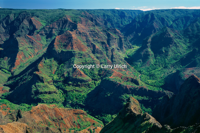 Waimea Canyon<br /> Waimea Canyon  State Park<br /> Island of Kauai,  Hawaii