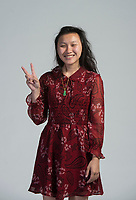 NWA Democrat-Gazette/BEN GOFF @NWABENGOFF<br /> Lalita Hongfa Sysavanh from Springdale High poses for a photo Wednesday, May 9, 2018, for Academic All Stars at the NWA Democrat-Gazette office in Springdale.