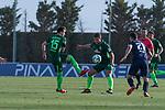 07.01.2018, San Pedro del Pinatar, Pinatar Arena, ESP, FSP FC Twente Enschede (NED) vs Werder Bremen (GER), im Bild<br /> <br /> Ixet Hajrovic (Werder Bremen #15)<br /> Philipp Bargfrede (Werder Bremen #44)<br /> Danny Holla (FC Twente Enschede)<br /> Jos&eacute; Joaqu&iacute;n Gallego Gamb&iacute;n (Mucia, ESP, Referee)<br /> Foto &copy; nordphoto / Kokenge