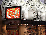 Theatre Marquee for Broadway Opening Night Performance Curtain Call for 'The Elephant Man' starring Bradley Cooper, Patricia Clarkson and Alessandro Nivola at the Booth  Theatre on December 7, 2014 in New York City.