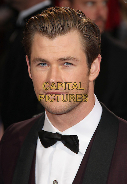 02 March 2014 - Hollywood, California - Chris Hemsworth. 86th Annual Academy Awards held at the Dolby Theatre at Hollywood &amp; Highland Center. <br /> CAP/ADM/RE<br /> &copy;Russ Elliot/AdMedia/Capital Pictures