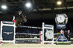 Marco Kutscher on Van Gogh competes and wins Longines Grand Prix at the Longines Masters of Hong Kong on 21 February 2016 at the Asia World Expo in Hong Kong, China. Photo by Juan Manuel Serrano / Power Sport Images