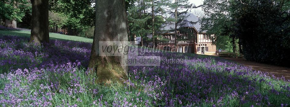 Europe/France/Nord-Pas-de-Calais/59/Nord/Parc du Mont Noir : Villa du Mont Noir - Maison de Marguerite Yourcenar