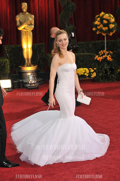 Melissa George at the 81st Academy Awards at the Kodak Theatre, Hollywood..February 22, 2009  Los Angeles, CA.Picture: Paul Smith / Featureflash