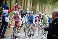 Liege-Bastogne-Liege 2012.98th edition..Joaquim Rodriguez on the Stockeu