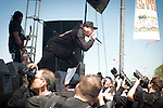 P.O.D. playing Pointfest, May 2013 at Verizon Wireless Amphitheater, St. Louis MO.