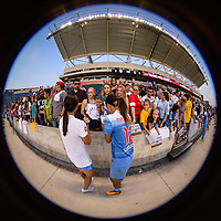 Bridgeview, IL - Sunday September 03, 2017: Vanessa DiBernardo, Yuki Nagasato during a regular season National Women's Soccer League (NWSL) match between the Chicago Red Stars and the North Carolina Courage at Toyota Park. The Red Stars won 2-1.