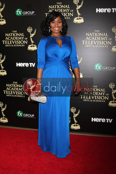 LOS ANGELES - JUN 22:  Angell Conwell at the 2014 Daytime Emmy Awards Arrivals at the Beverly Hilton Hotel on June 22, 2014 in Beverly Hills, CA