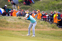Brooks Koepka (USA) on the 18th during final round of The Open Championship 146th Royal Birkdale, Southport, England. 23/07/2017.<br /> Picture Fran Caffrey / Golffile.ie<br /> <br /> All photo usage must carry mandatory copyright credit (&copy; Golffile | Fran Caffrey)