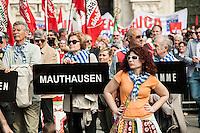 Milano 25-04-2013: manifestazione per ricordare il 25 aprile del 1945 giorno della liberazione dalla dittatura nazi-fascista
