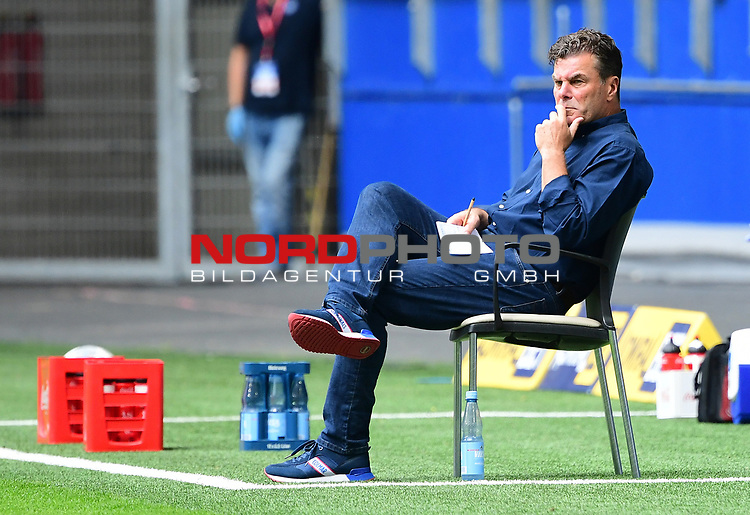 Trainer Dieter Hecking (HSV)<br />Hamburg, 28.06.2020, Fussball 2. Bundesliga, Hamburger SV - SV Sandhausen<br />Foto: VWitters/Witters/Pool//via nordphoto<br /> DFL REGULATIONS PROHIBIT ANY USE OF PHOTOGRAPHS AS IMAGE SEQUENCES AND OR QUASI VIDEO<br />EDITORIAL USE ONLY<br />NATIONAL AND INTERNATIONAL NEWS AGENCIES OUT