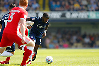 Dru Yearwood of Southend United during the Sky Bet League 1 match between Southend United and MK Dons at Roots Hall, Southend, England on 21 April 2018. Photo by Carlton Myrie.