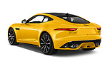 Car pictures of rear three quarter view of 2020 Jaguar F-Type R 2 Door Coupe Angular Rear