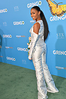 Nafessa Williams at the world premiere for &quot;Gringo&quot; at the L.A. Live Regal Cinemas, Los Angeles, USA 06 March 2018<br /> Picture: Paul Smith/Featureflash/SilverHub 0208 004 5359 sales@silverhubmedia.com