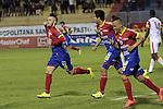 Deportivo Pasto venció 3-1 a Independiente Santa Fe, en el estadio La Libertad, de Pasto, por la fecha 13 del Clausura 2015.