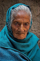 Old women in the street of near Durbar Square, Kathmandu, Nepal