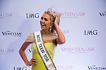 Miss Teen USA 2016 the 2016 Miss Teen USA Competition at The Venetian Las Vegas on July 30, 2016 in Las Vegas, Nevada. Miss Texas Karley Hay (yellow dress)