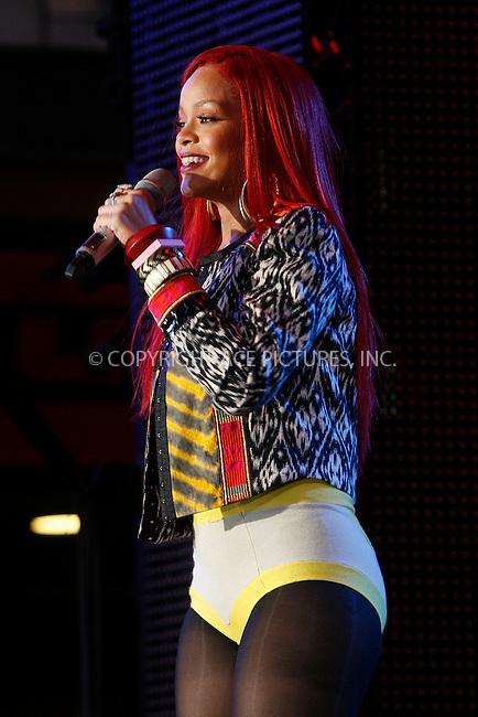 WWW.ACEPIXS.COM . . . . .  ....November 15 2010, New York City....Rihanna performs on MTV's 'The Seven' at MTV Studios in Times Square on November 15, 2010 in New York City. ....Please byline: NANCY RIVERA- ACEPIXS.COM.... *** ***..Ace Pictures, Inc:  ..Tel: 646 769 0430..e-mail: info@acepixs.com..web: http://www.acepixs.com