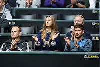 Rotterdam, The Netherlands. 13.02.2014. Andy Murray's Girlfriend at the ABN AMRO World tennis Tournament<br /> <br /> Photo:Tennisimages/Henk Koster
