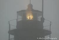 Beavertail Light in the Fog