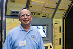 GILROY CHOW, of Clarksdale, Mississippi, is at a Summer of '69 Celebration Event held at the Long Island Cradle of Aviation Museum, on the 45th Anniversary of NASA Apollo 11 LEM, Lunar Excursion Module, landing on the moon July 20, 1969. Chow helped build, assemble and test all Lunar Modules, LM 1 through LM 15, Apollo 7 through Apollo 17, from 1966 - 1973,  and was attending the reunion of former Northrop Grumman Aerospace Corporation employees.