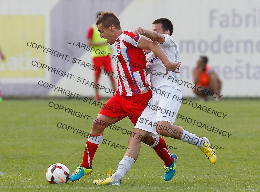 Fudbal Super liga season 2013-2014<br /> Javor v Crvena Zvezda <br /> Aleksandar Kovacevic<br /> Ivanjica, 11.08.2013.<br /> foto: Srdjan Stevanovic/Starsportphoto &copy;