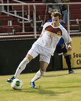 The Winthrop University Eagles beat the UNC Asheville Bulldogs 4-0 to clinch a spot in the Big South Championship tournament.  Patrick Barnes (11)