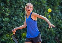 Hilversum, Netherlands, August 7, 2017, National Junior Championships, NJK, Sanne Schalekamp<br /> Photo: Tennisimages/Henk Koster