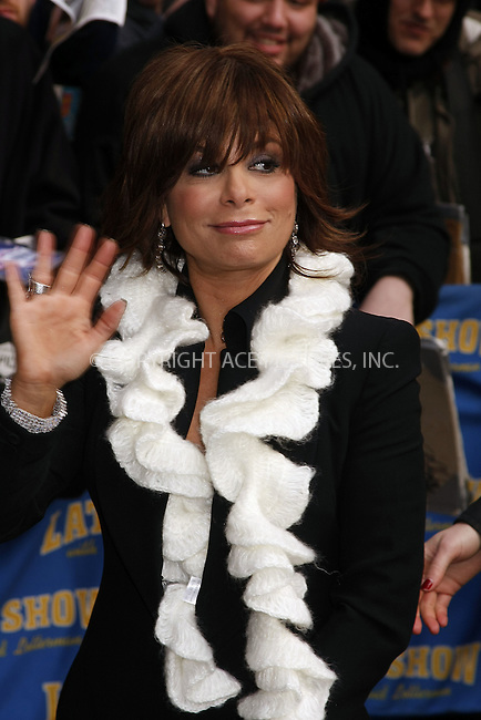 WWW.ACEPIXS.COM . . . . .  ....March 10 2008, New York City....TV personality Paula Abdul made an appearance at the 'Late Show with David Letterman' at the Ed Sullivan Theatre in midtown Manhattan....Please byline: AJ Sokalner - ACEPIXS.COM..... *** ***..Ace Pictures, Inc:  ..te: (646) 769 0430..e-mail: info@acepixs.com..web: http://www.acepixs.com