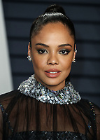 BEVERLY HILLS, CA - FEBRUARY 24: Tessa Thompson at the 2019 Vanity Fair Oscar Party at the Wallis Annenberg Center for the Performing Arts on February 24, 2019 in Beverly Hills, California. (Photo by Xavier Collin/PictureGroup)
