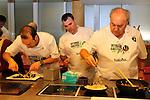Vitoria Gasteiz-Capital de la Gastronomia 2014.<br /> Presentacion en Barcelona-Mercat de la Boqueria.<br /> Mikel Zuazo &amp; Enrique Fuentes.