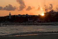 02.2012 Playa del Carmen (Mexico)<br /> <br /> Coucher de soleil.<br /> <br /> Sunset.