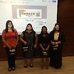 "Dec. '14 2nd Place Winners - ""Skyler's Plus Size Clothing Store"", L-R: Guadalupe Castro, Alexandra Rojas, Selena Alvarez, & Wendy Delgado"