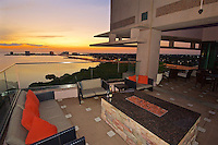 C- Armani's Restaurant at Grand Hyatt - Patio & Views of Rocky Point at Sunset, Tampa FL 9 16
