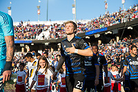 Stanford, CA - June 14, 2017: San Jose Earthquakes defeat the LA Galaxy 2-1 Saturday night during the California Clasico at Stanford Stadium.