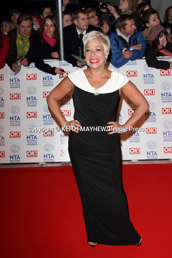 London - National Television Awards at the O2 Arena, London - January 23rd 2013..Photo by Keith Mayhew