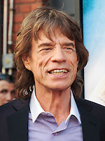 NEW YORK CITY, NY, USA - JULY 21: Mick Jagger at the New York Premiere Of 'Get On Up' held at The Apollo Theater on July 21, 2014 in New York City, New York, United States. (Photo by Celebrity Monitor)