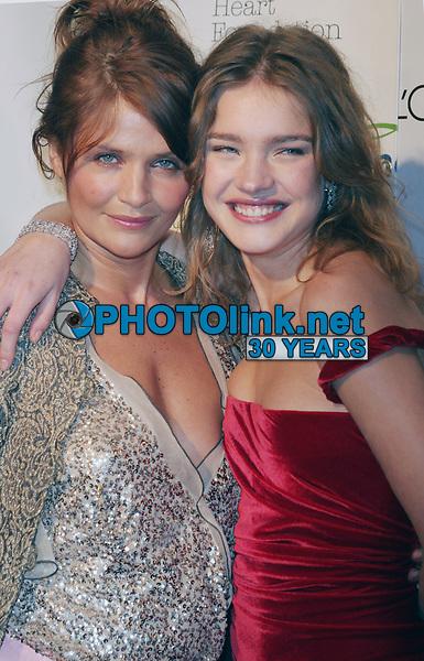 Helena Christensen and Natalia Vodianova, 2004, Photo By John Barrett/PHOTOlink