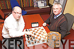 Paul Shanahan and Padraig O'Sullivan from Tralee Chess Club who are preparing for the Kerry Chess Championship in the Grand Hotel, Tralee on September 30th.