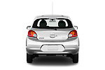 Straight rear view of a 2014 Mitsubishi SPACE STAR 5 Door Hatchback 2WD