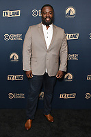 30 May 2019 - West Hollywood, California - Bashir Salahuddin. Paramount Network, Comedy Central, TV Land Press Day 2019 held at The London West Hollywood  . Photo Credit: Birdie Thompson/AdMedia<br /> CAP/ADM/BT<br /> ©BT/ADM/Capital Pictures