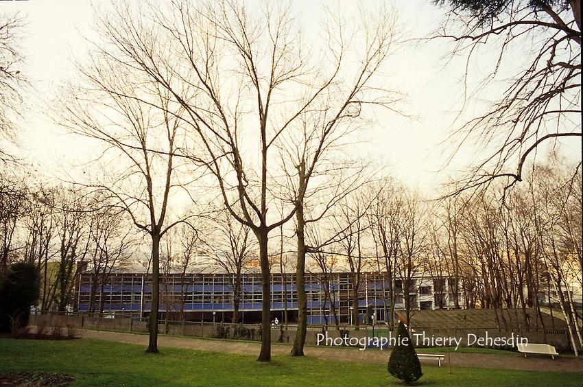 1989-1994; Issy Les Moulineaux; Centre Ville;