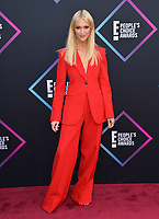 LOS ANGELES, CA. November 11, 2018: Zanna Roberts Rassi  at the E! People's Choice Awards 2018 at Barker Hangar, Santa Monica Airport.<br /> Picture: Paul Smith/Featureflash