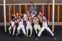 Year 4 Thunder. Eastern Suburbs Cricket Club junior team photos at Easts Cricket clubrooms, Kilbirnie, Wellington, New Zealand on Monday, 6 March 2017. Photo: Dave Lintott / lintottphoto.co.nz