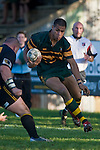 "Frank Halai only has Robert Katu to beat as he heads to the tryline for his 4th try. CMRFU Counties Power ""Game of the Week' between Bombay & Pukekohe played at Bombay on Saturday 17th May 2008..Pukekohe led 15 - 0 at halftime & went on to win 42 - 5."