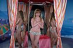 Brigitte Bardot display,Wax Museum, Buena Park, CA, 1981