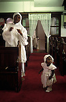 "Brotherhood of the Cross and Star London. Motyher and child she is doing a ""holy dance""